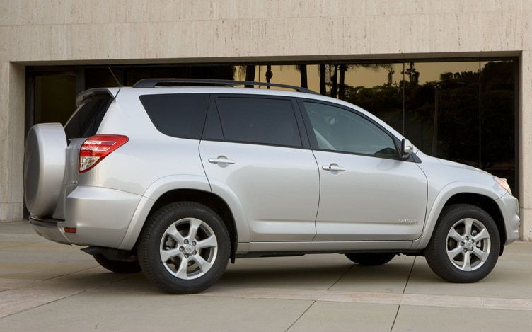 2011 Toyota RAV4 Limited Rear View
