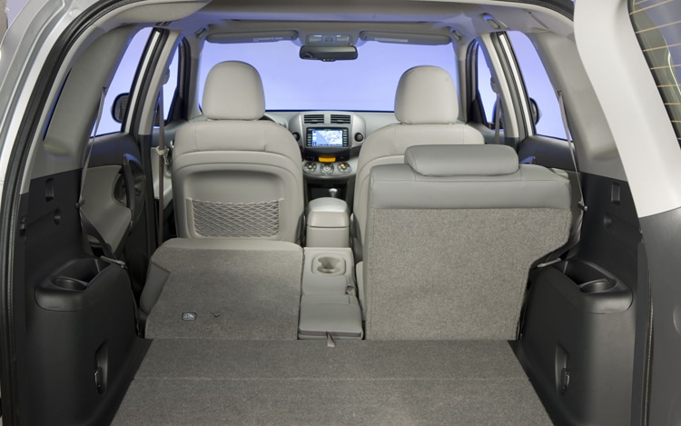 2011 Toyota RAV4 Limited Some Back Seats Down