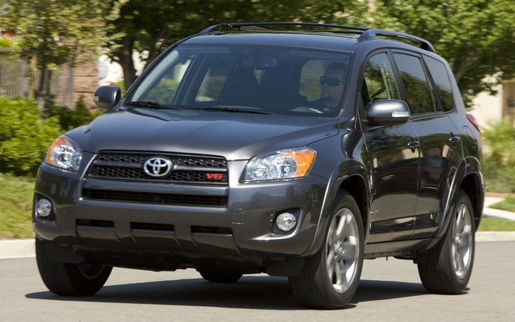 2011 Toyota RAV4 Sport Front Three Quarters View