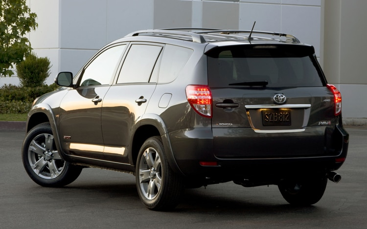 2011 Toyota RAV4 Sport Rear View