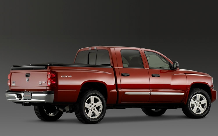 2011 Dodge Dakota 4X4 Rear View