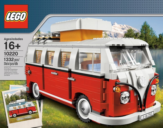Product Spotlight: Lego Releases VW Microbus