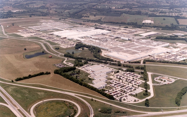 Spring Hill Assembly Plant Aerial View