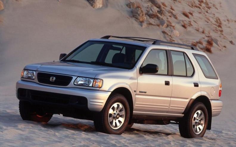 Recalled: 1998-2002 Isuzu Rodeo/Axiom/Honda Passport for Rear Suspension Corrosion