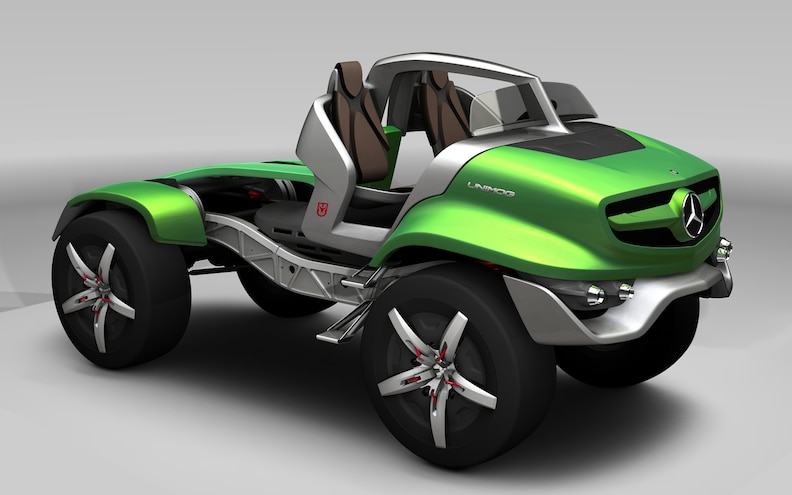 Mercedes-Benz Unimog Design Concept wins Red Dot Award