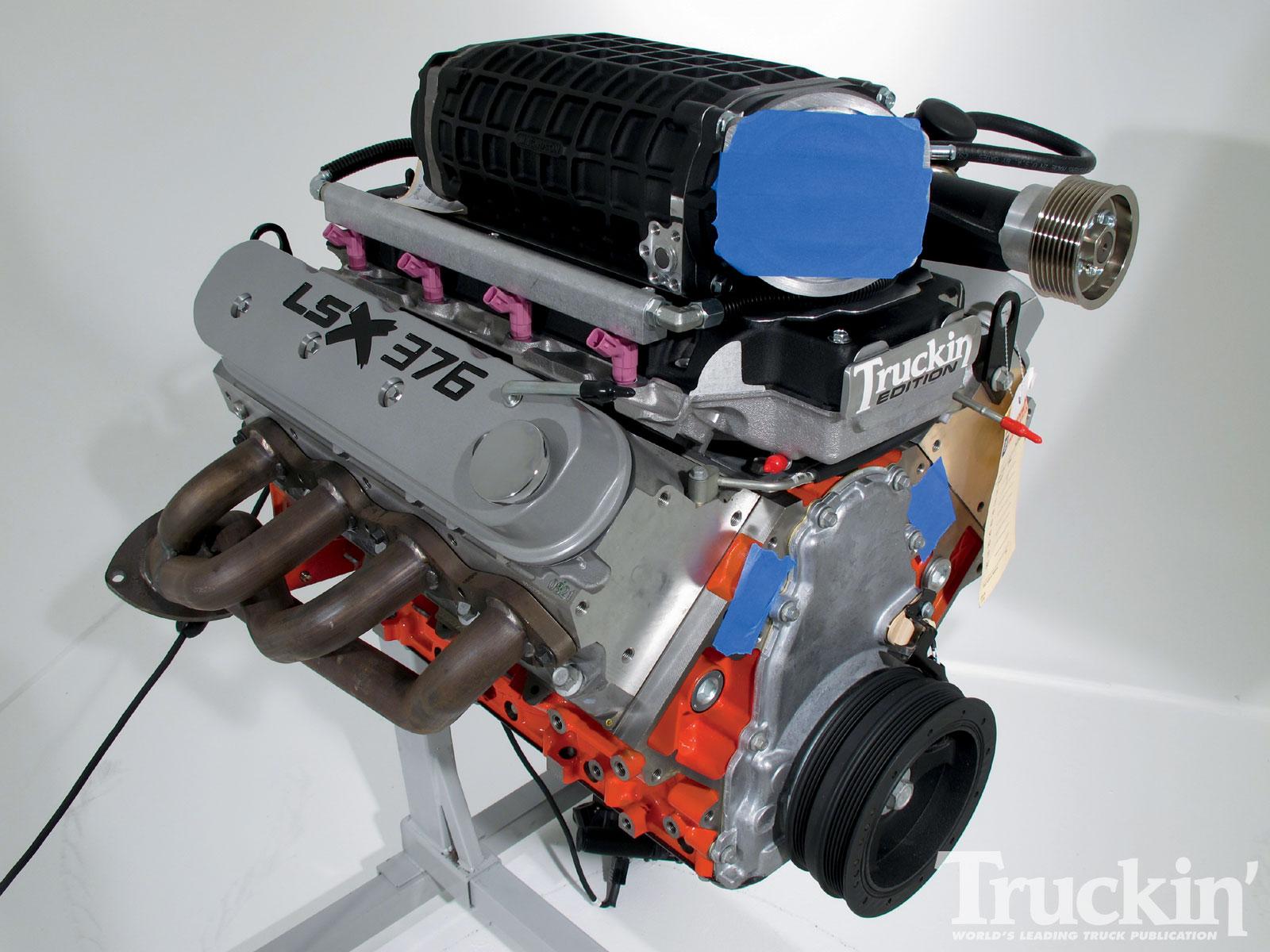 2004 GMC Sierra Buildup - GM Performance Parts LSX376 Engine