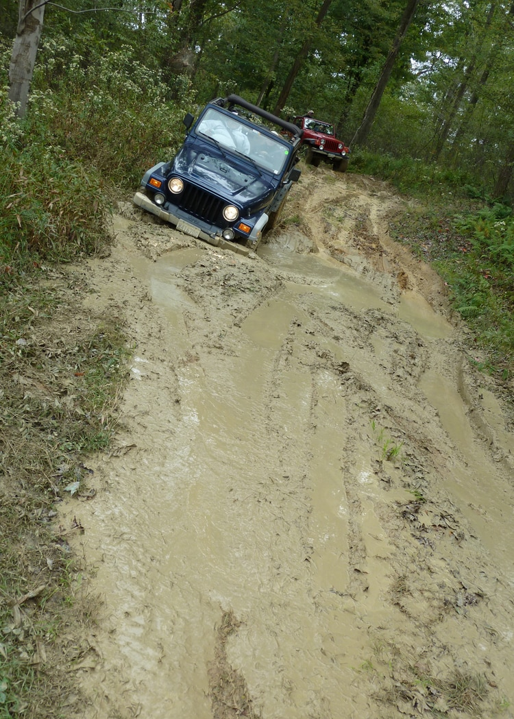 2011 Jeep Jamboree The Mud Trail