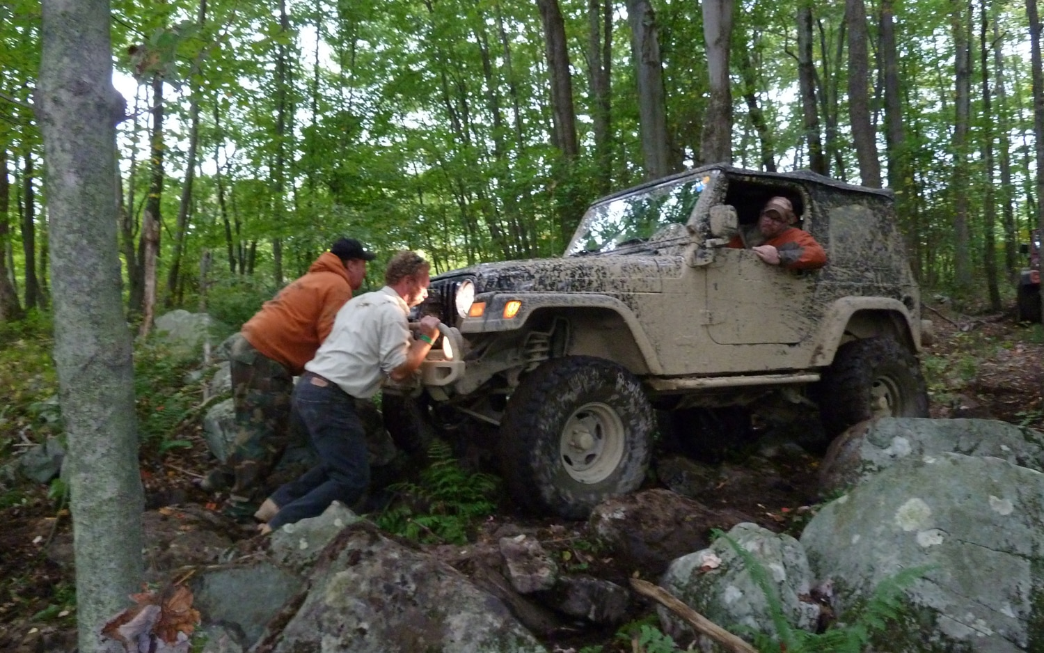 2011 Jeep Jamboree Team Work