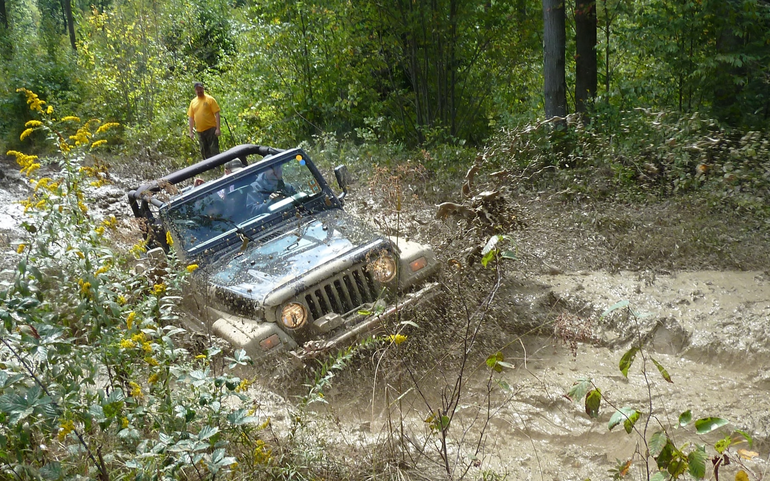 2011 Jeep Jamboreelots Of Mud