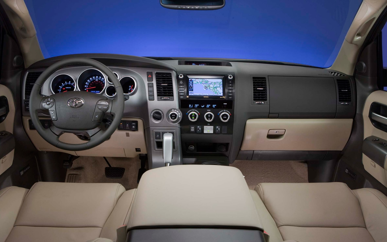 2012 Toyota Sequoia Cockpit