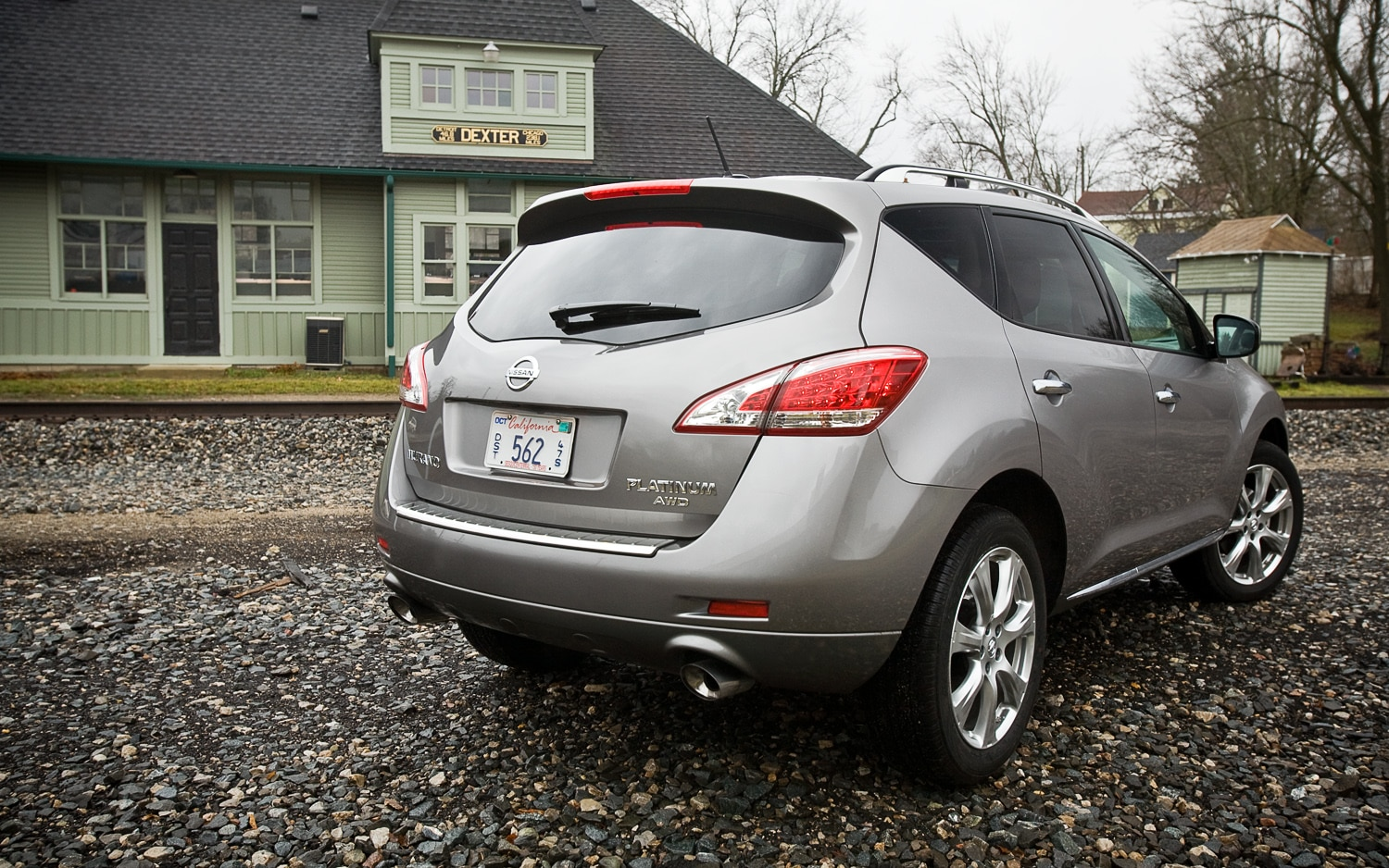 2012 Nissan Murano LE AWD Rear Right View