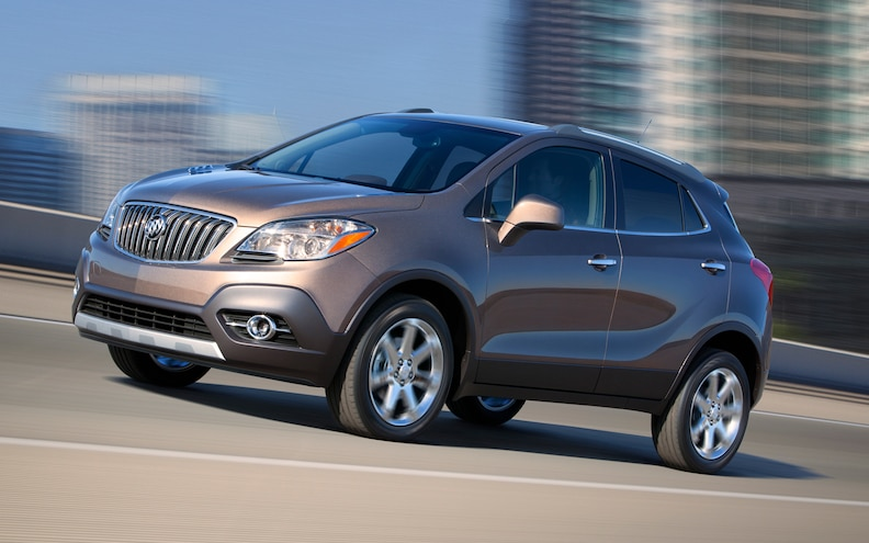 2013 Buick Encore Gets High Safety Scores From NHTSA, IIHS, Falls Short on TSP+