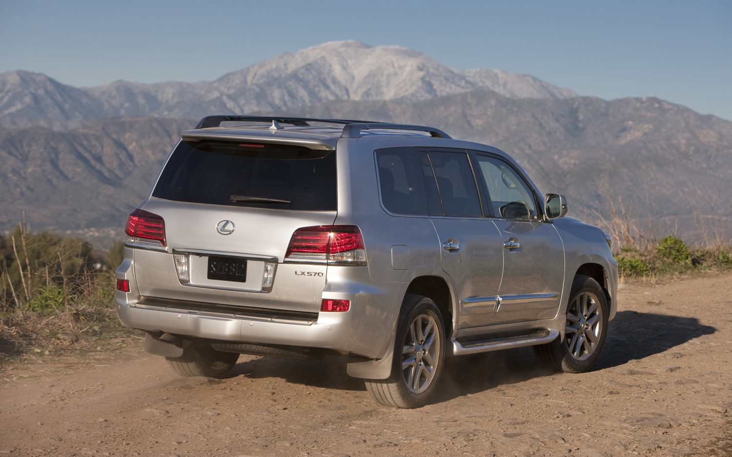 2013 Lexus LX 570 Rear View