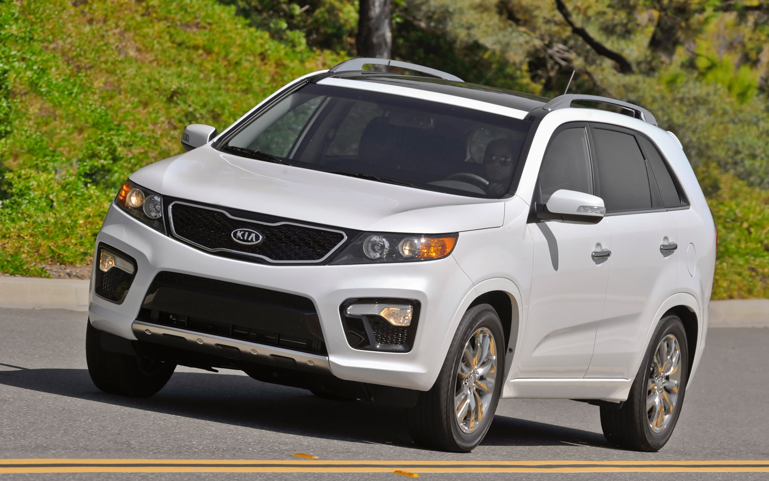 2012 Kia Sorento Front Left Side View 5