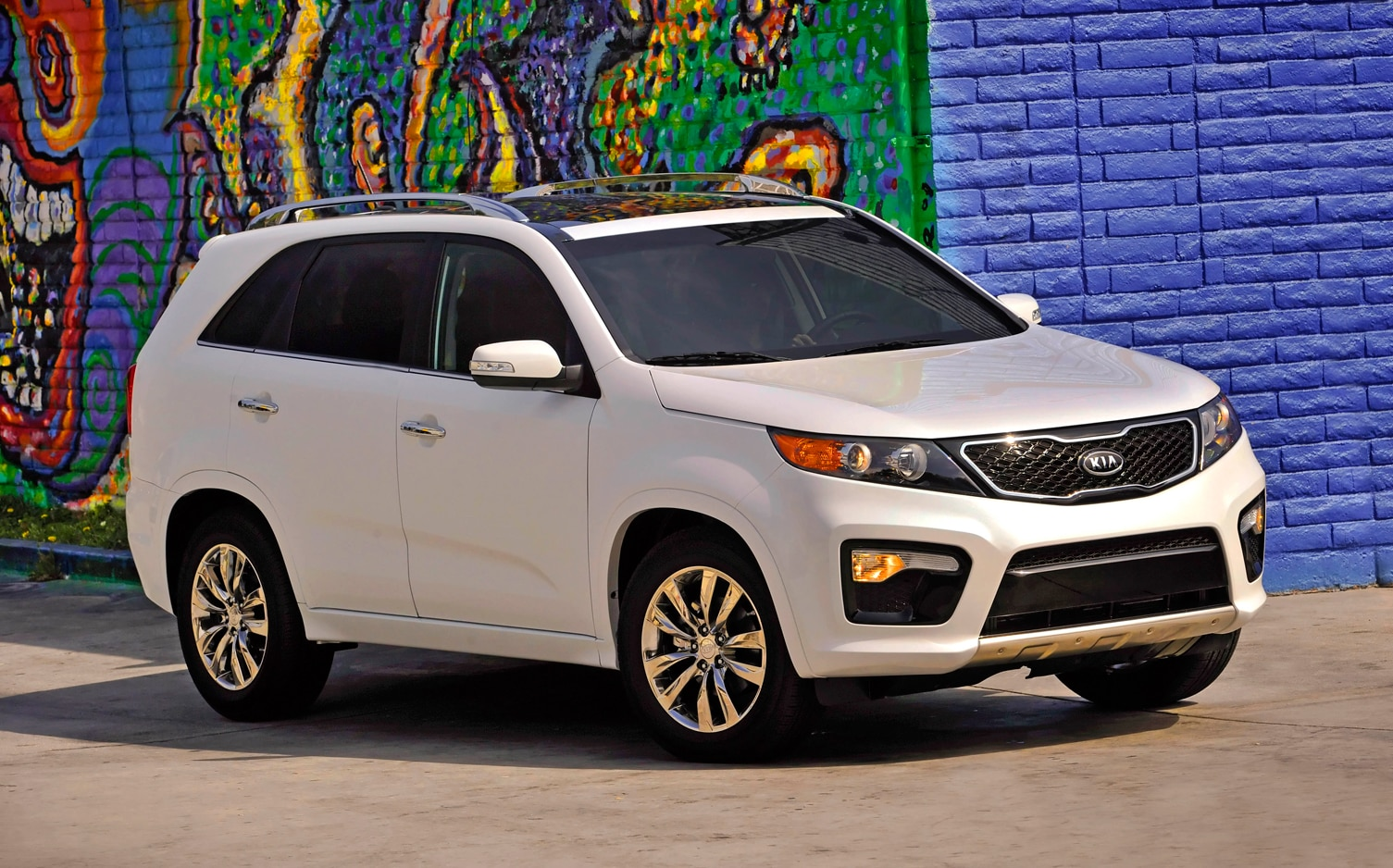 2012 Kia Sorento Front Right Side View 7