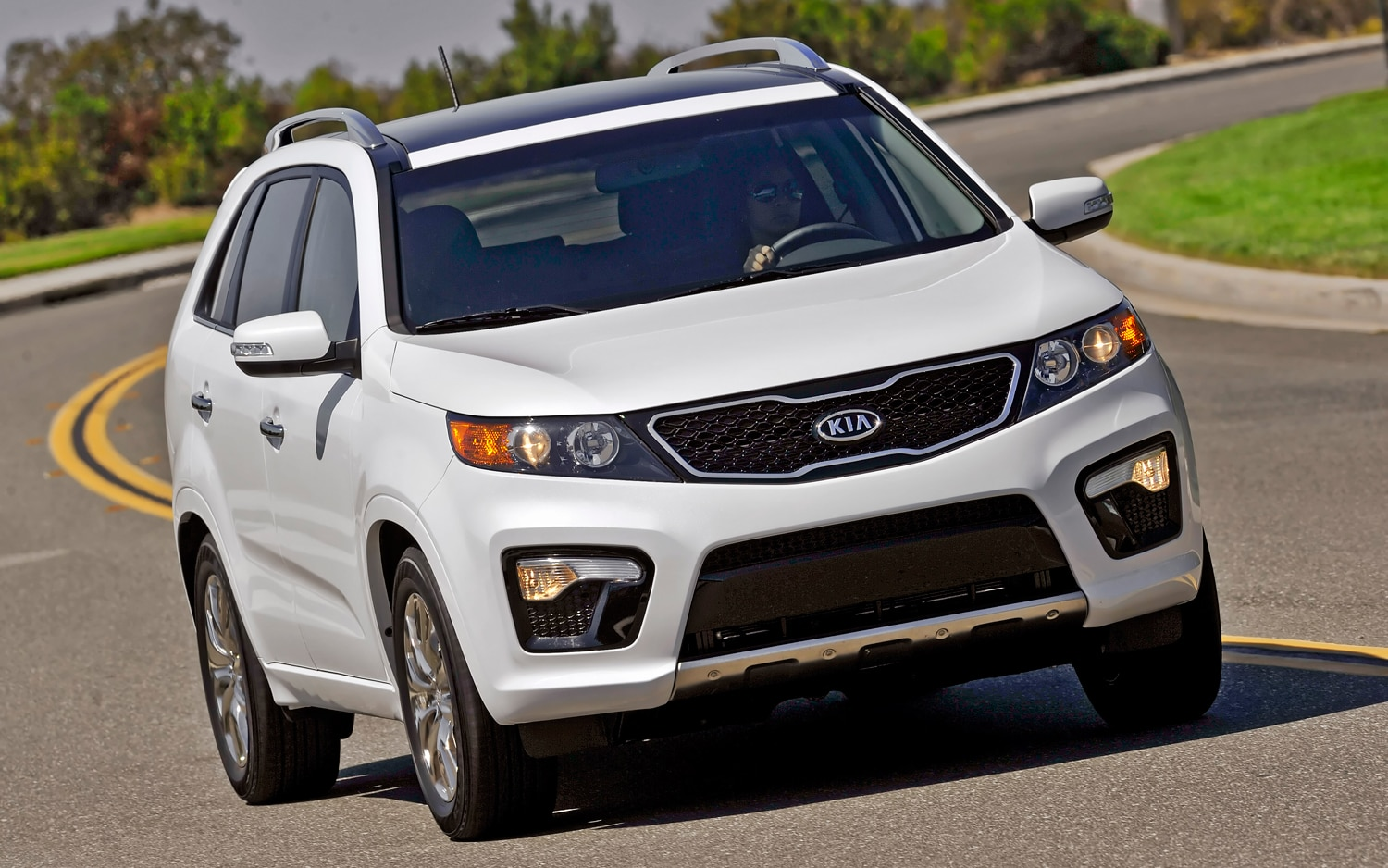2012 Kia Sorento Front Right View 5