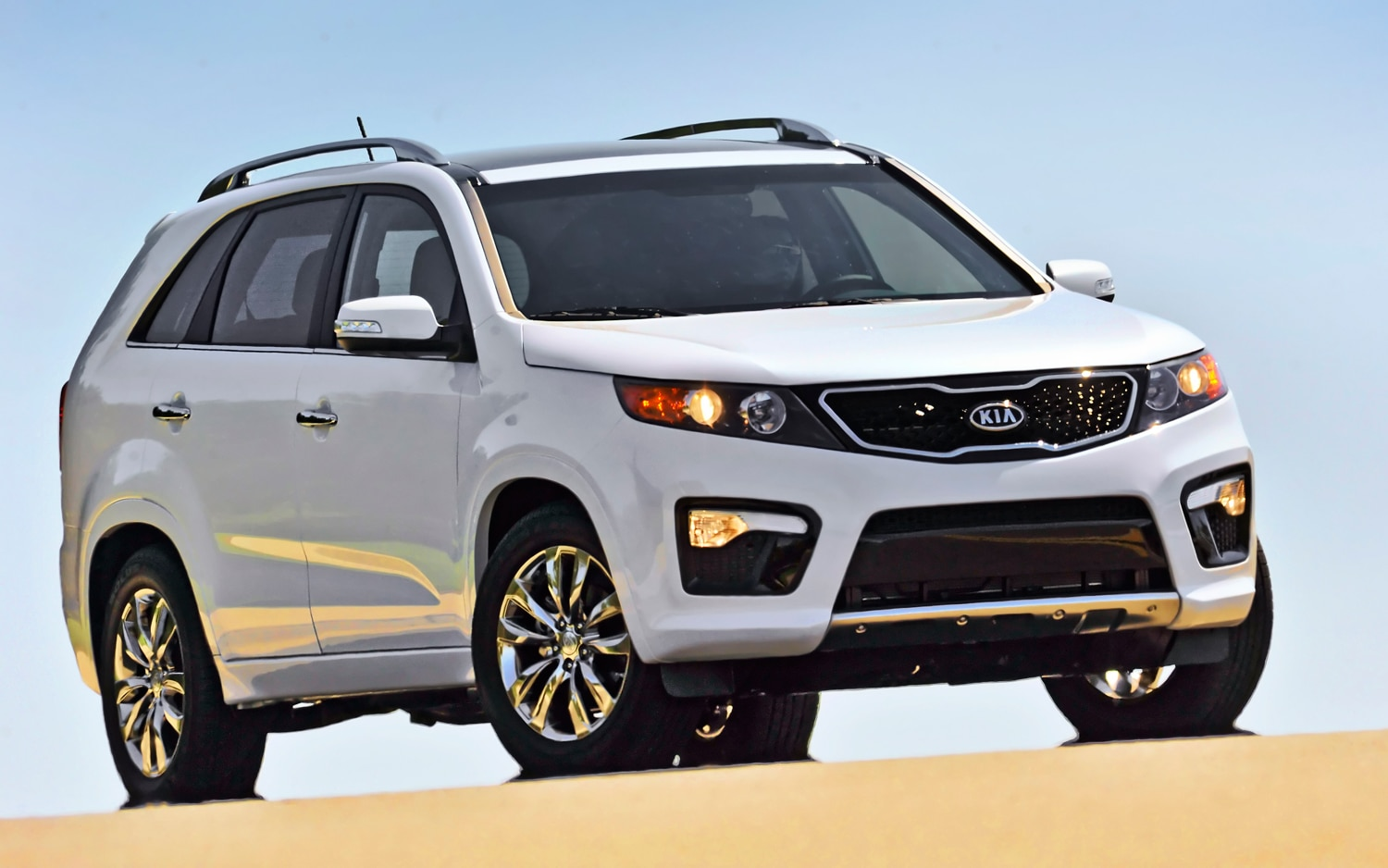 2012 Kia Sorento Front Right View 2