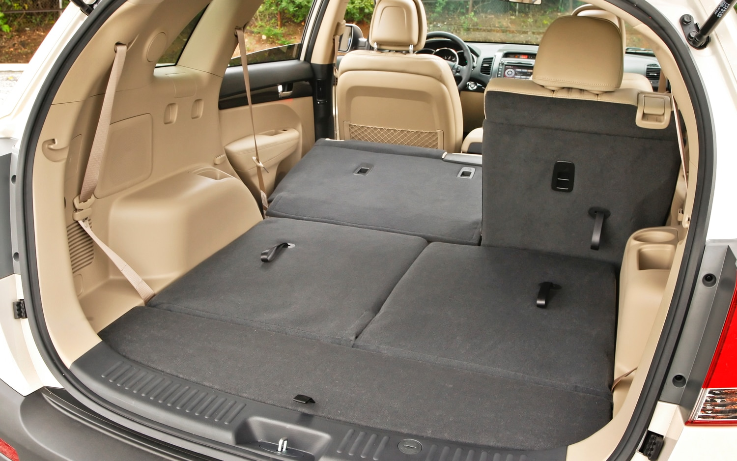 2012 Kia Sorento More Trunk Space