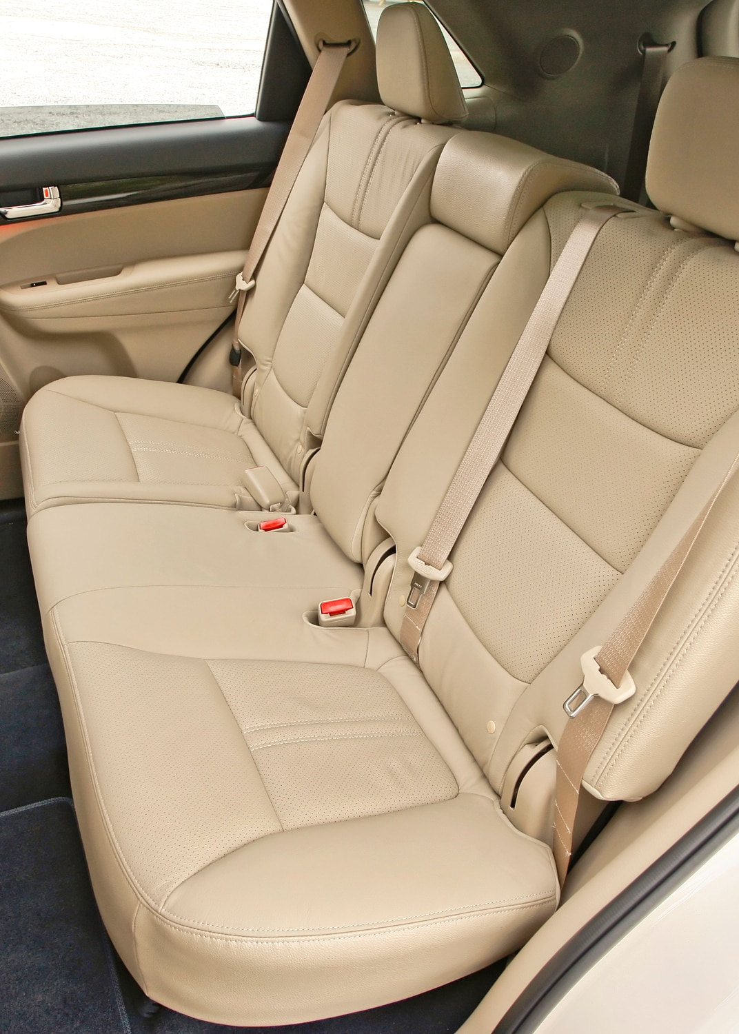 2012 Kia Sorento Rear Seating