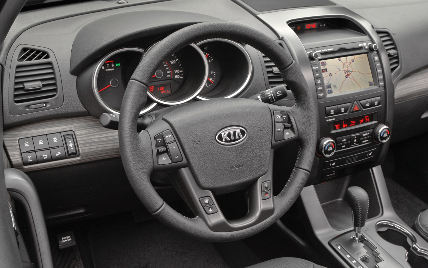 2012 Kia Sorento Steering Wheel