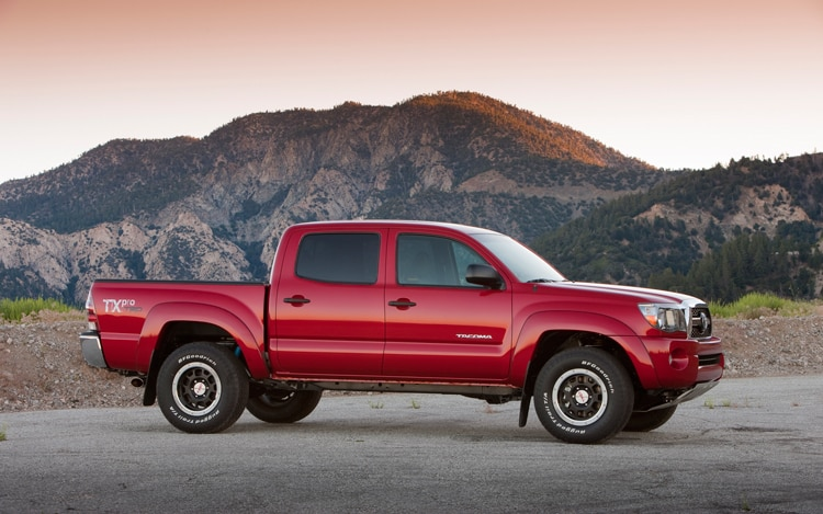 2011 Toyota Tacoma T|X Pro Double Cab 4x4 - First Test ...