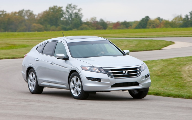 2011 Honda Accord Crosstour Passengers Front View In Motion