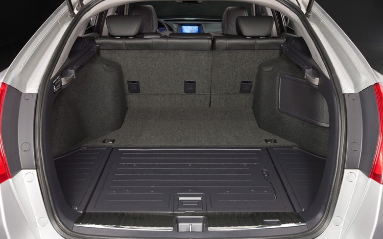 2011 Honda Accord Crosstour Interior Hatch Space