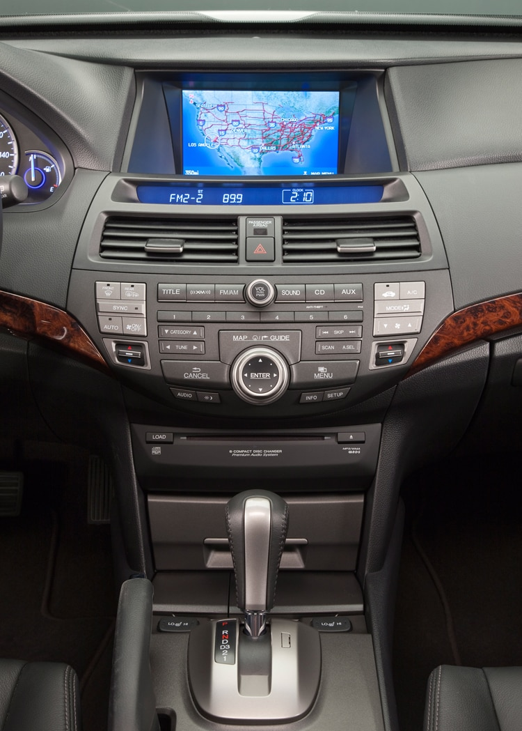 2011 Honda Accord Crosstour Center Dash With Navi View