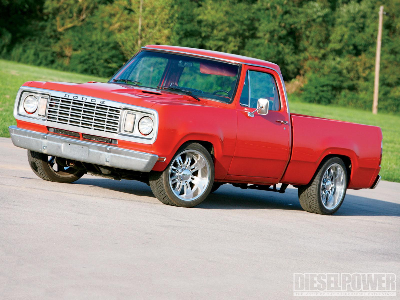 1977 Dodge Pickup Built On A Budget Diesel Power Magazine