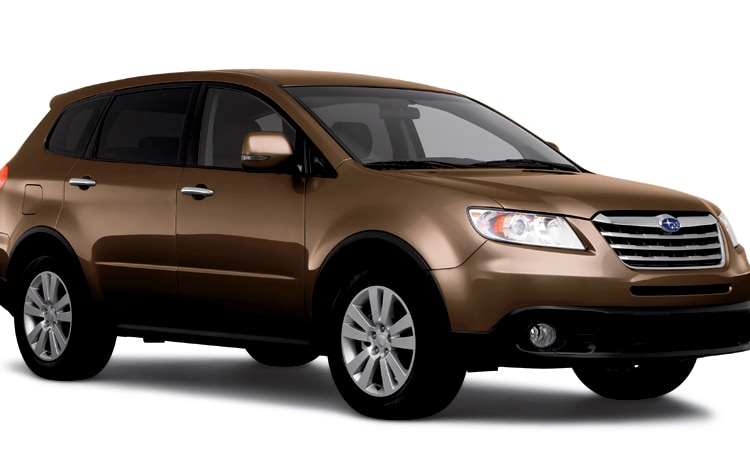 2011 Subaru Tribeca Brown