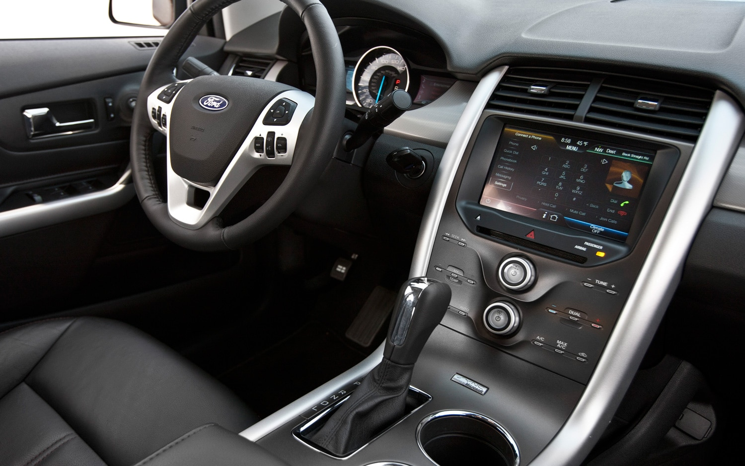 2012 Ford Edge SEL Ecoboost Interior
