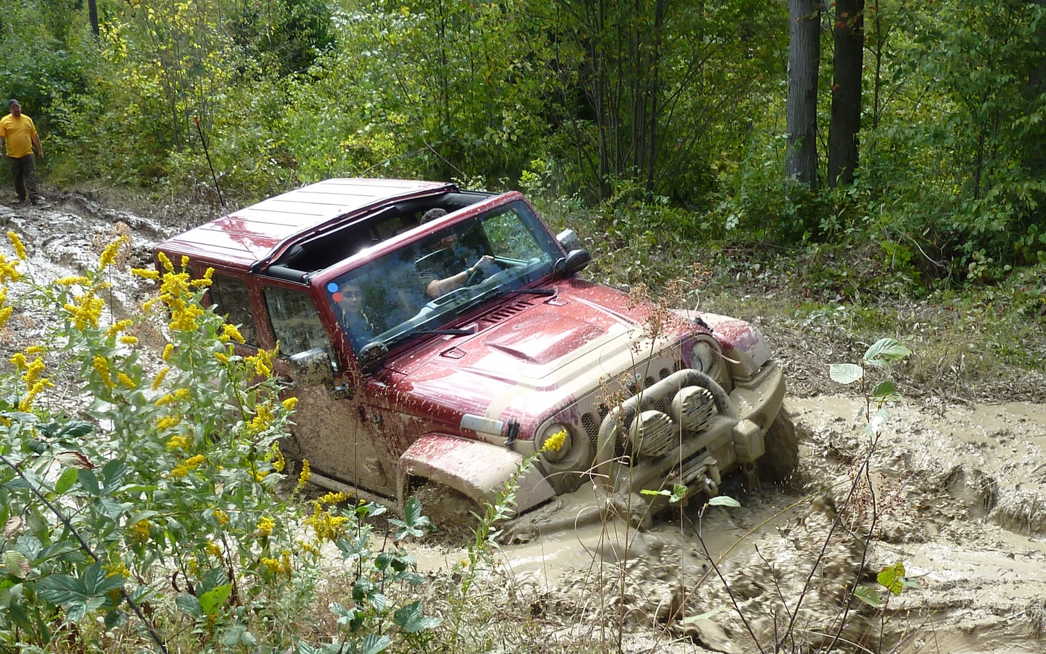 2011 Jeep Jamboree In Mud