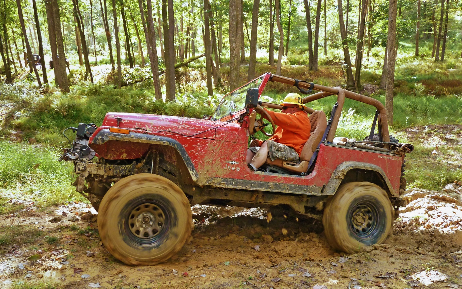 2011 Jeep Jamboree In The Mud