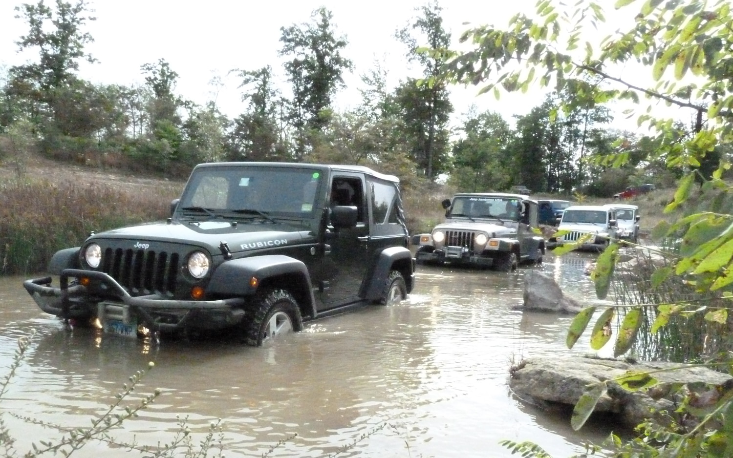 2011 Jeep Jamboree In Water