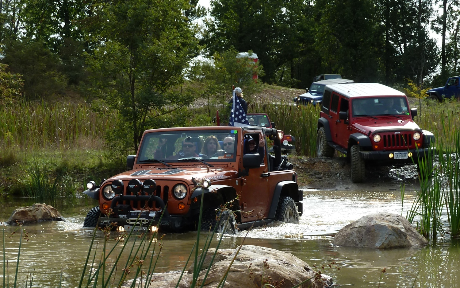 2011 Jeep Jamboree Wadding In Water