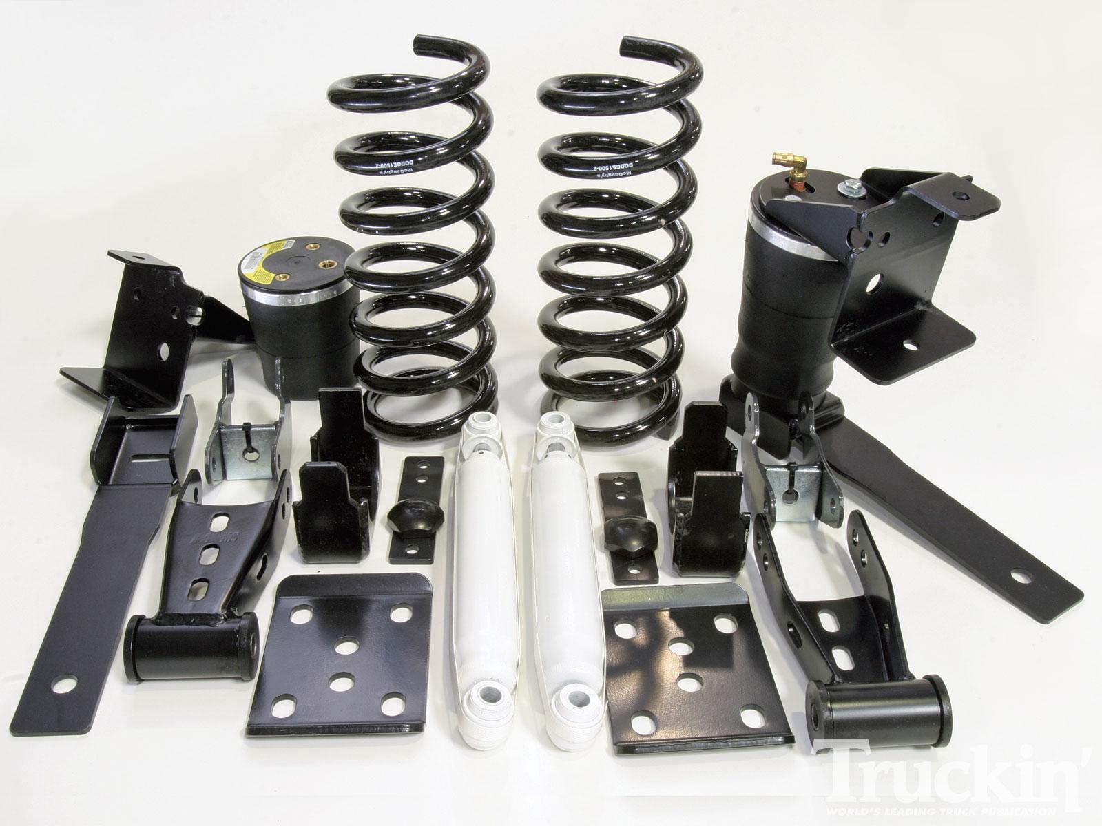 McGaughy's Dodge Ram SRT Lowering Kit - Tech Articles - Truckin
