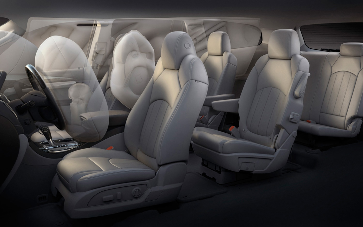 2013 Buick Enclave Interior Air Bags