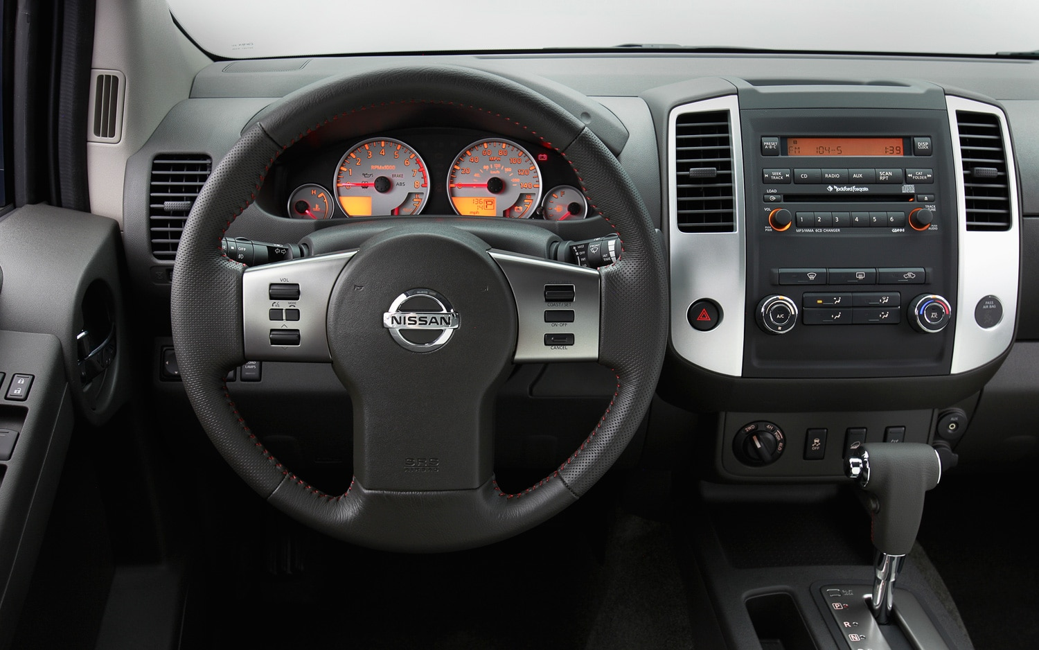 2012 Nissan Xterra Steering Wheel