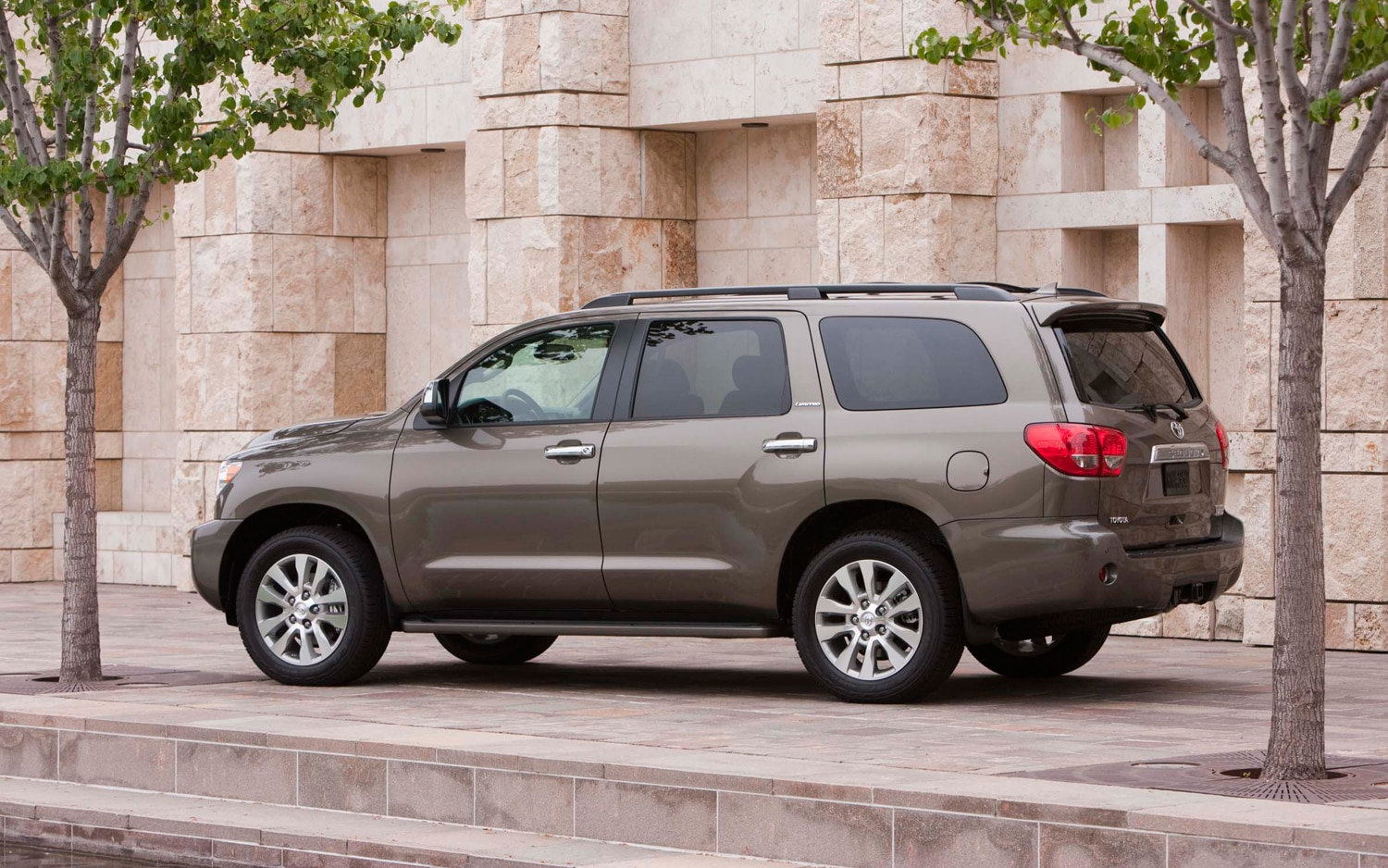 2012 Toyota Sequoia Rear Three Quarters