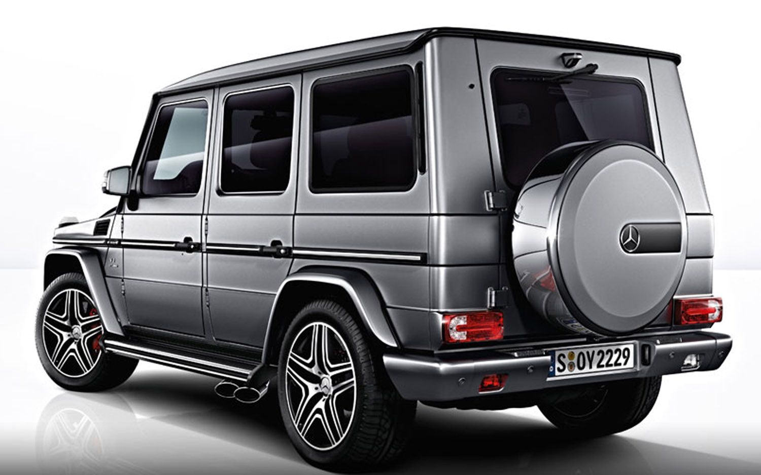2013 Mercedes Benz G63 AMG Rear Three Quarter