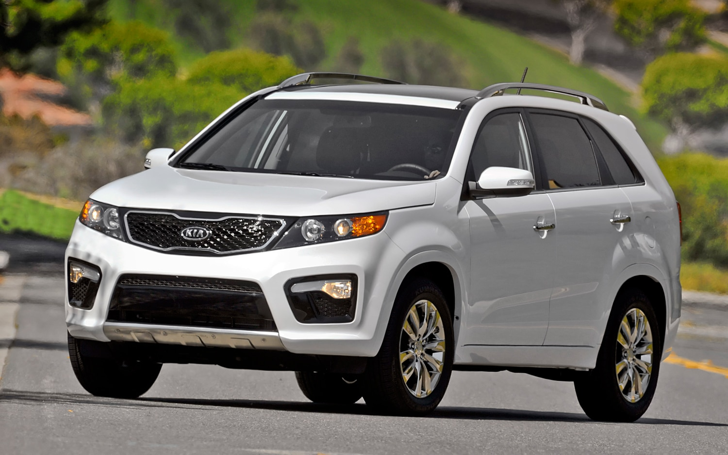 2012 Kia Sorento Front Left View 2