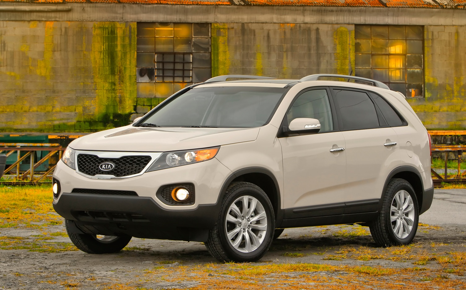 2012 Kia Sorento Front Left Side View 2