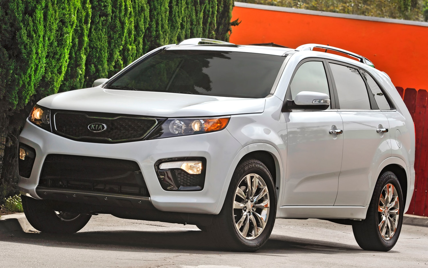 2012 Kia Sorento Front Left Side View 4