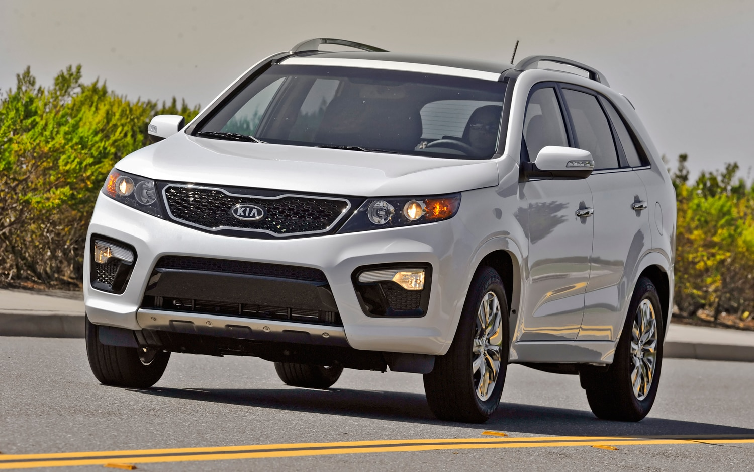 2012 Kia Sorento Front Left View 4