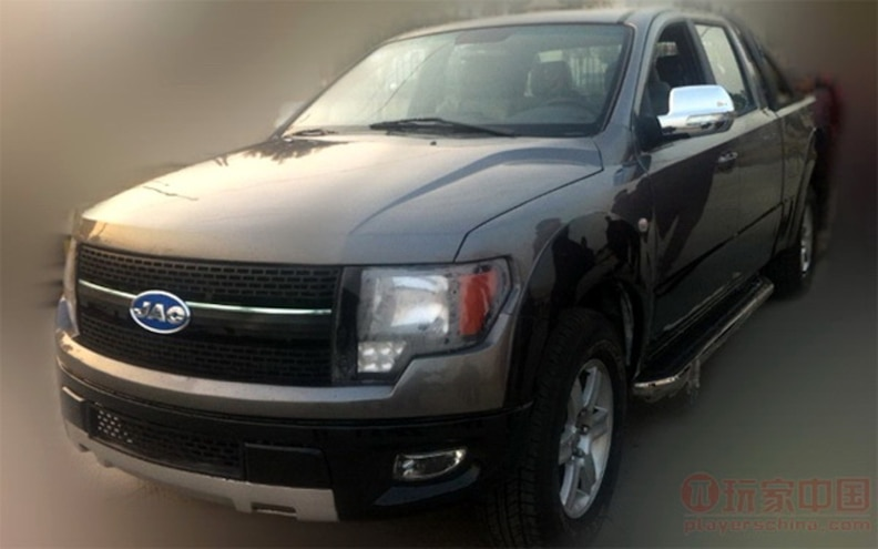 Chinese JAC 4R3 Pickup Truck is Ford F-150 Clone