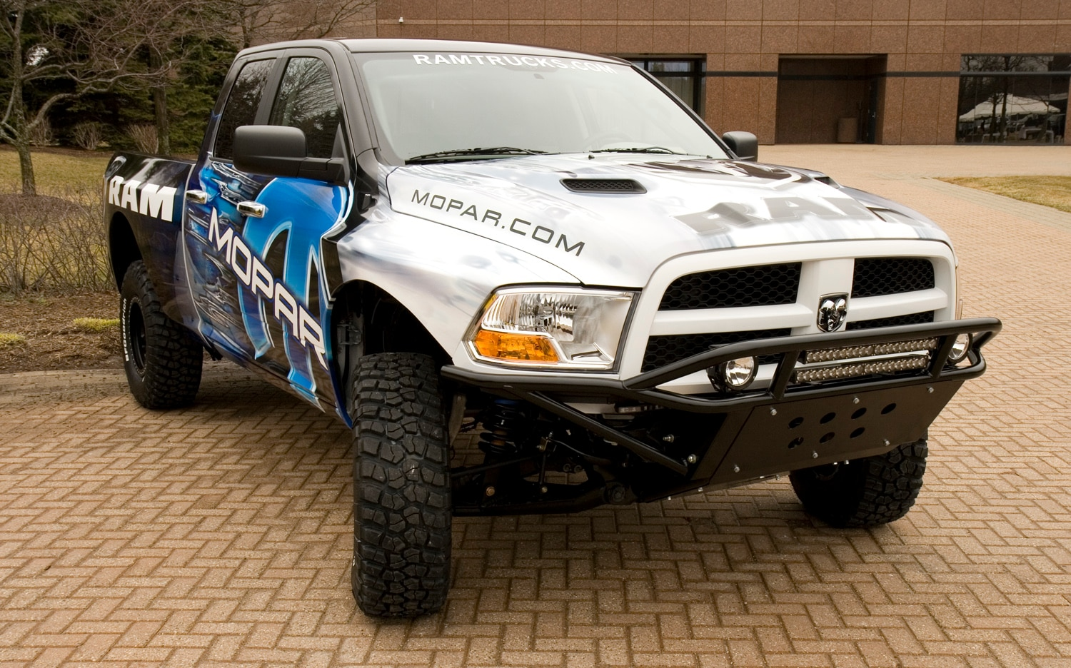 Ram Runner Pickup Front View