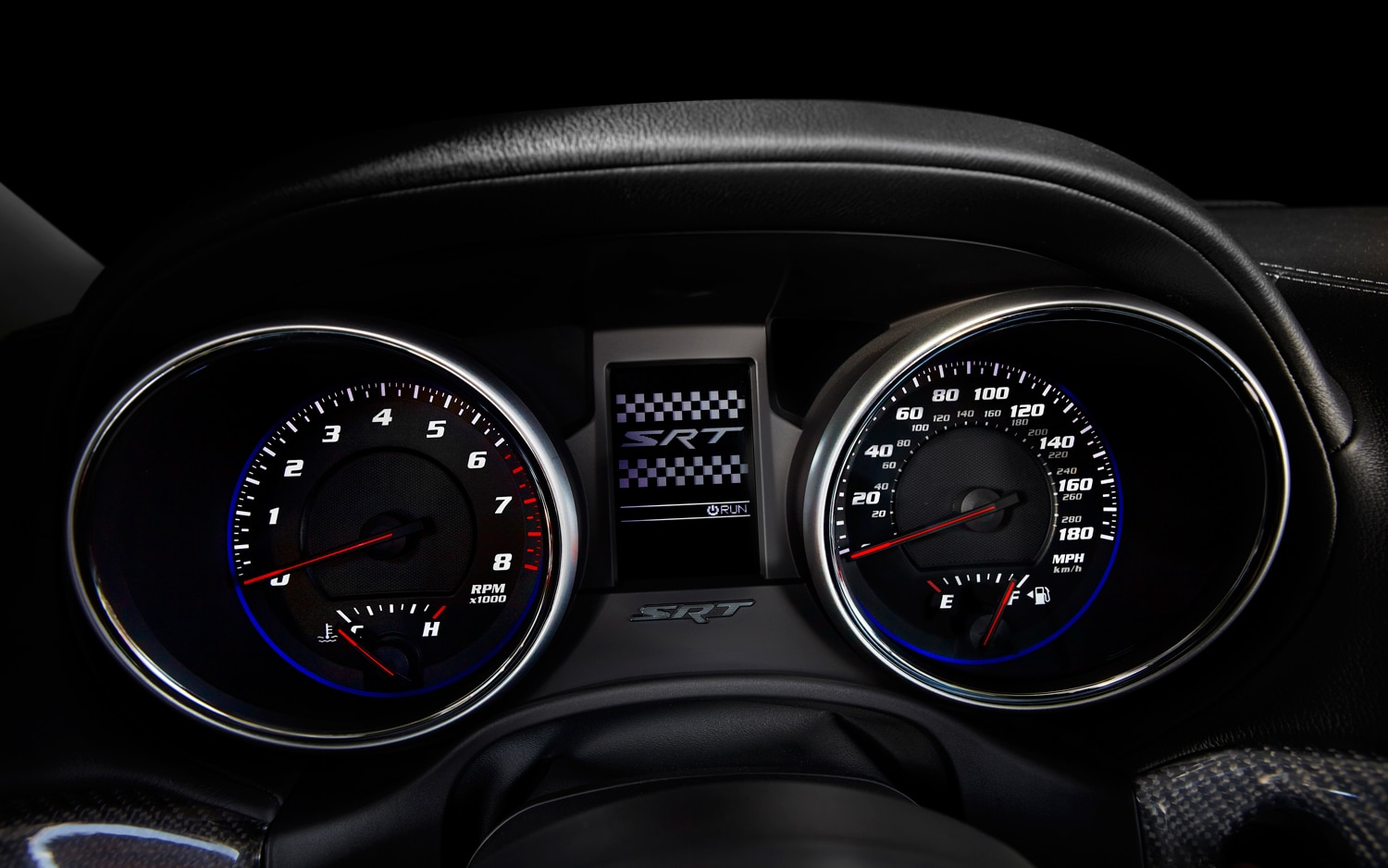 2012 Jeep Grand Cherokee SRT8 Gauges