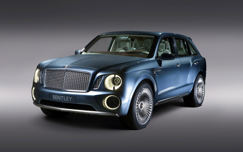 Bentley Considering V-8, Hybrid Engines for EXP 9 F SUV