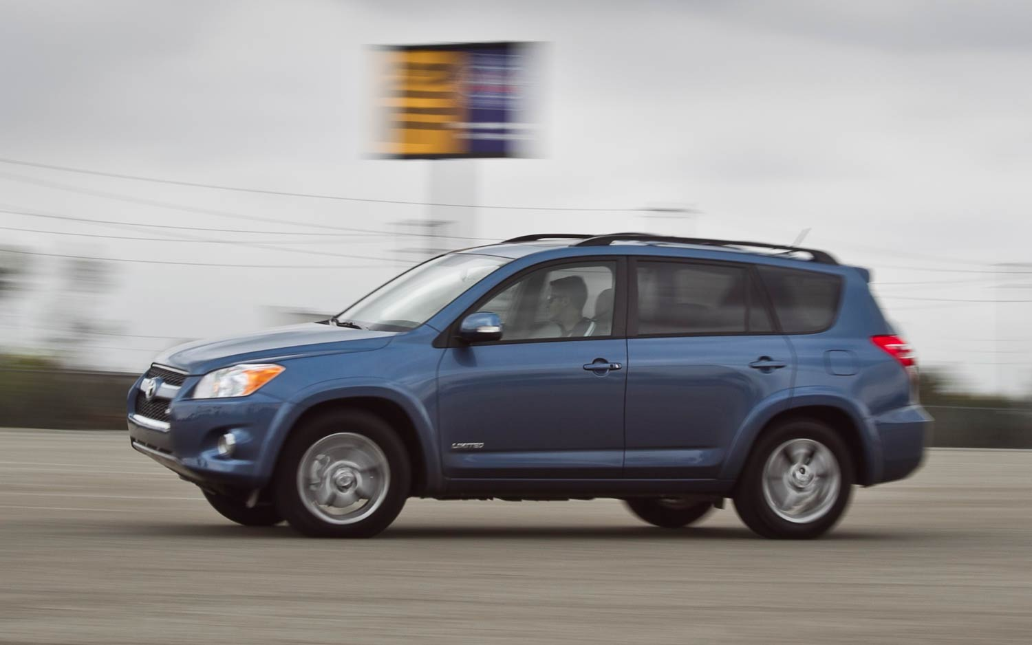 2011 Toyota Rav4 Limited V 6 Drivers Side In Motion
