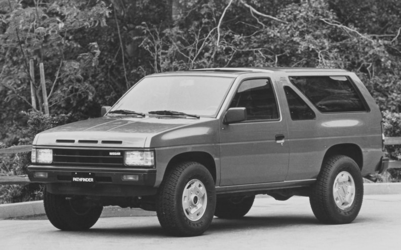 Looking Back: A History of the Nissan Pathfinder